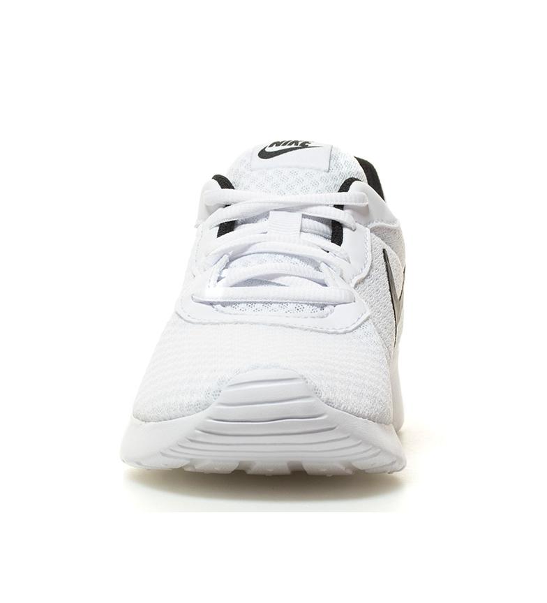 Nike-Chaussures-Tanjun-Homme-Bleu-Noir-Blanc-Tissu-Lacets-Sportswear-Plat miniature 20