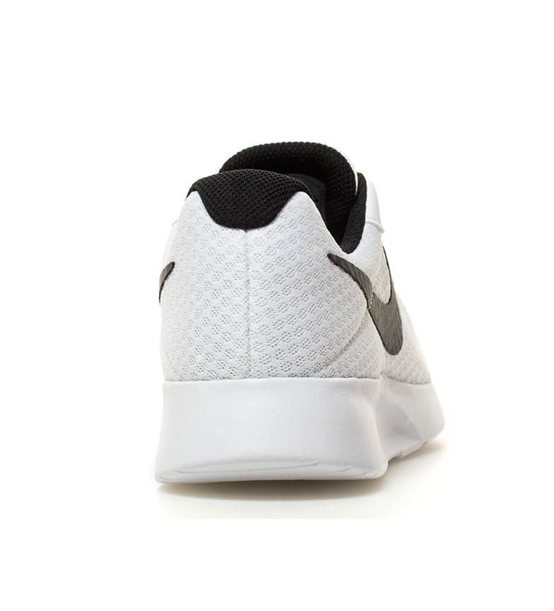 Nike-Chaussures-Tanjun-Homme-Bleu-Noir-Blanc-Tissu-Lacets-Sportswear-Plat miniature 21