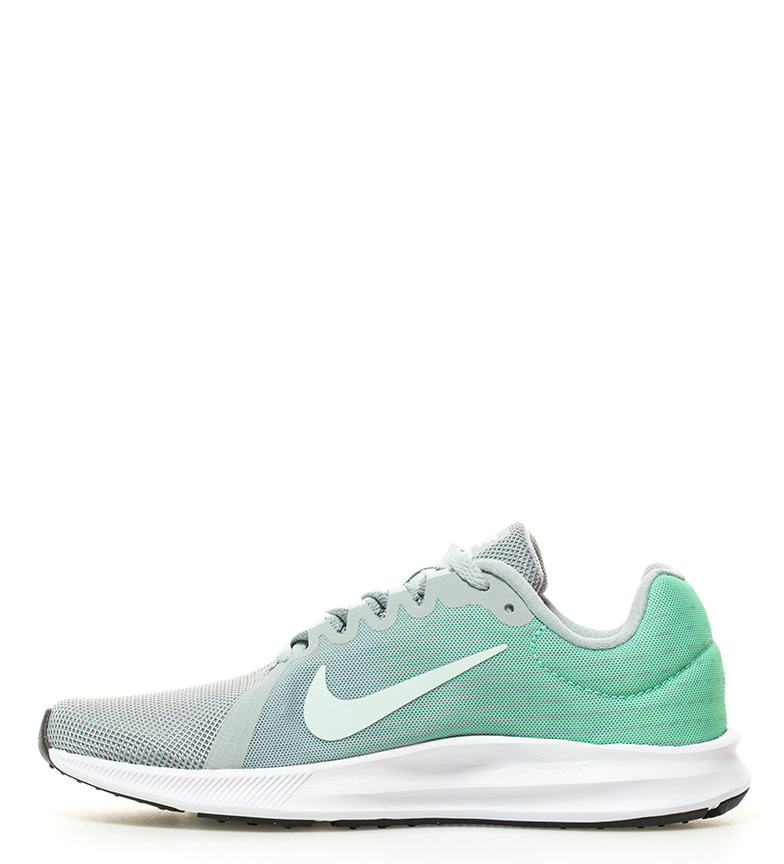 verde Nike gris gris Zapatillas Zapatillas Downshifter verde Downshifter 8 Nike running running 8 x7FqP1Ywn