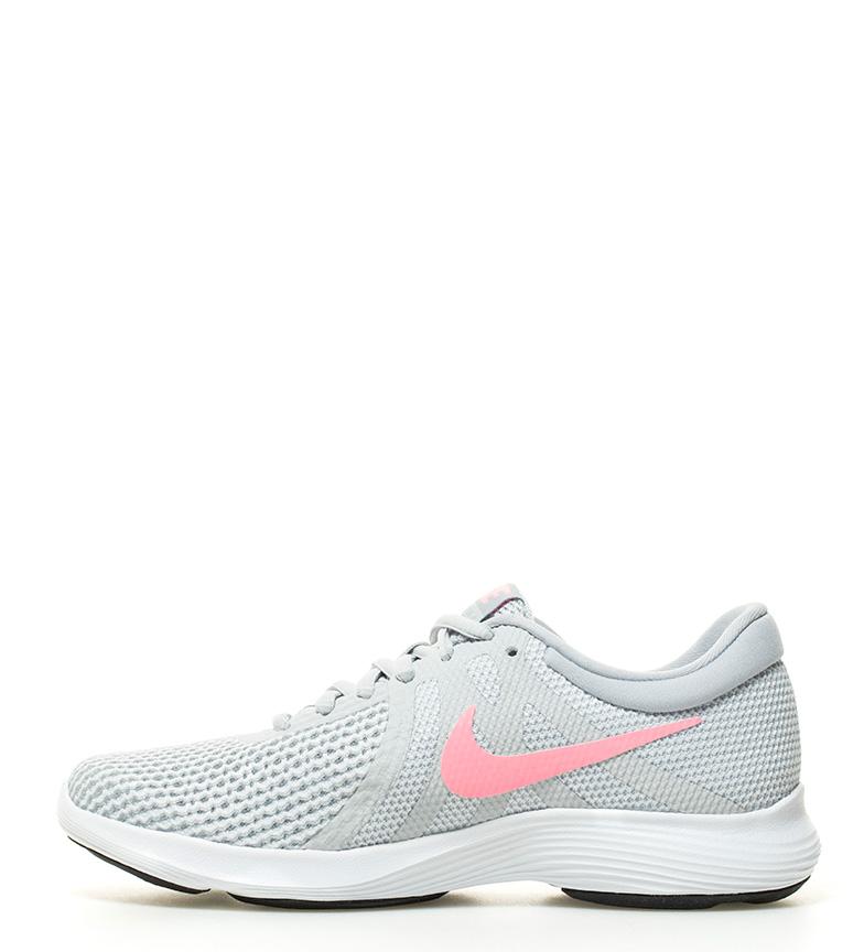 running Revolution gris Nike 4 Zapatillas gq56xCz