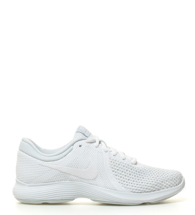 Revolution 4 blanco Nike running Zapatillas qwP7BE