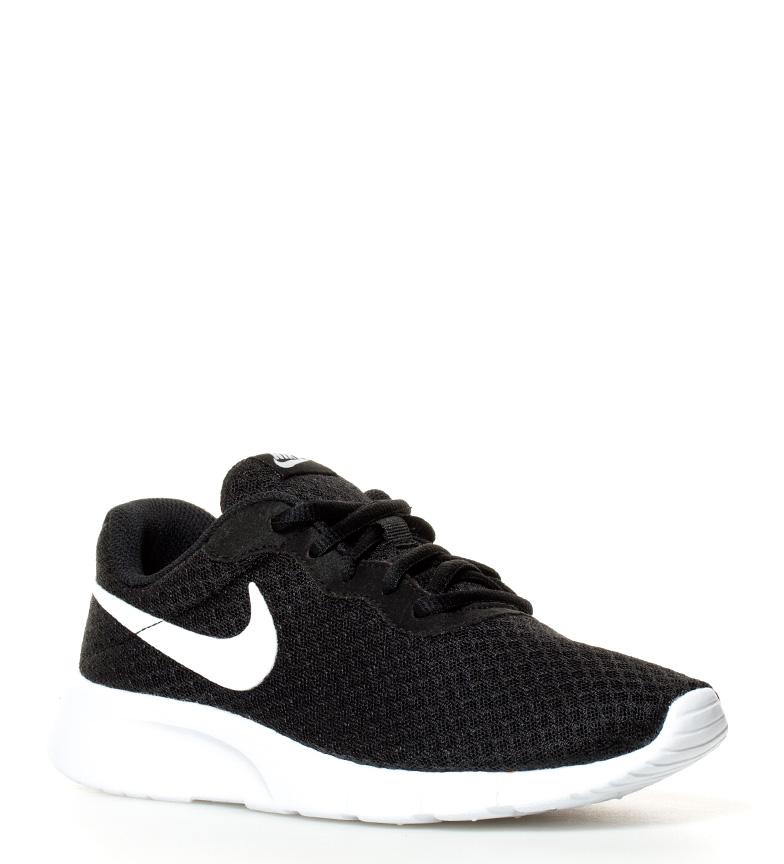 Nike-Zapatillas-Tanjun-Gs-Negro-Azul-Gris-Rojo-Tela-Cordones-Casual-Sportswear