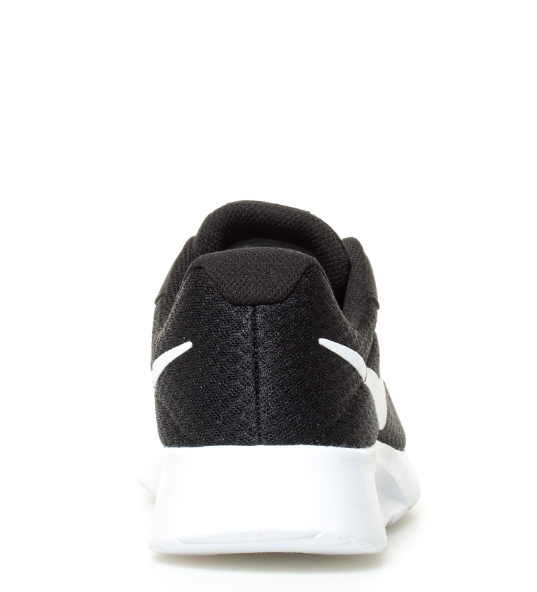 Nike - Zapatillas Tanjun Uomo Nero Tessuto Basso Stringhe Casual  6ec0b8b51ab