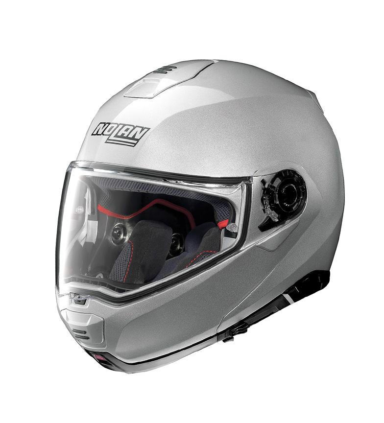 Comprar Nolan Casco modular N100-5 Classic N-COM 001Platinum Silver  -PINLOCK®-