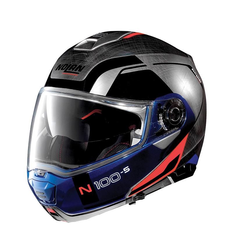 Comprar Nolan Casco modular N100-5 Consistency N-COM RJ 029Scratched Chrome -PINLOCK®-