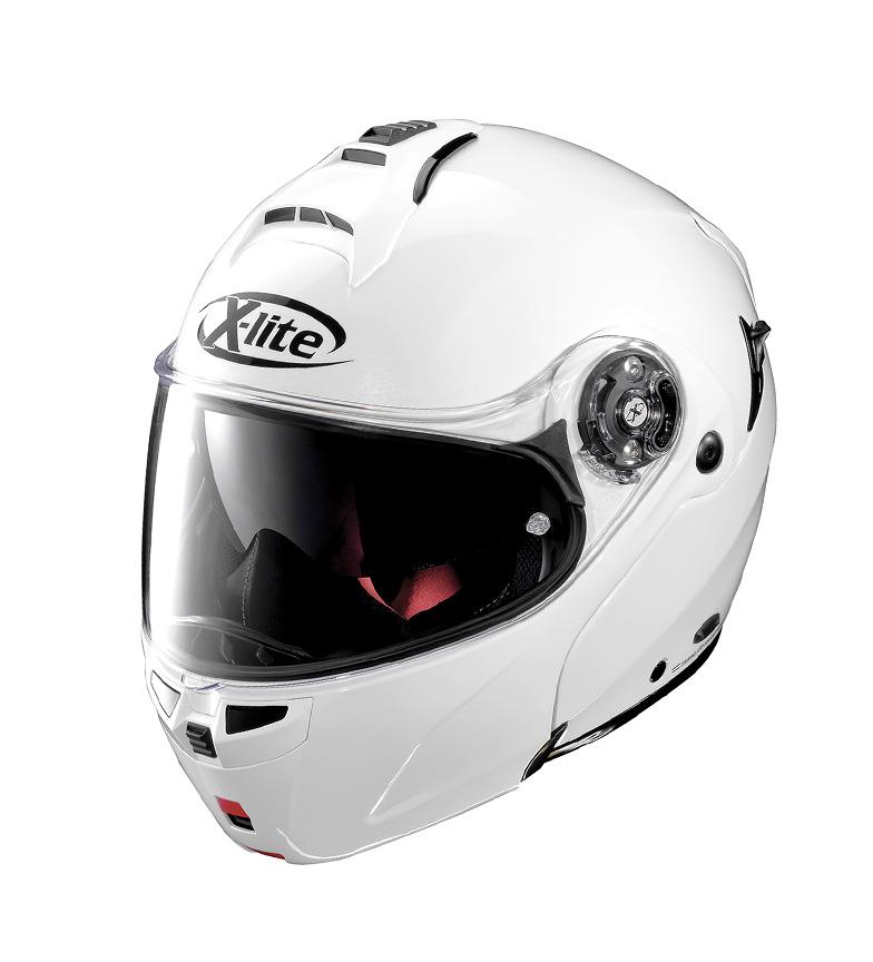 Comprar X-Lite Casco modular X-1004   Elegance 003Metal White -PINLOCK®-
