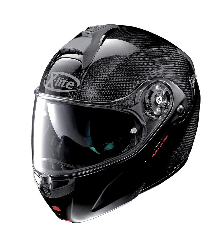 Comprar X-Lite Capacete modular X-1004 Ultra carbono Dyad 001Flat Black Chin Guard -PINLOCK®-