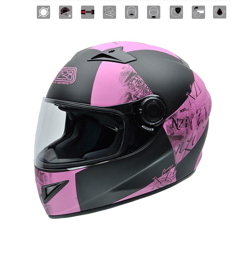 Comprar Nzi Casco integrale Must II Victory Pink pink