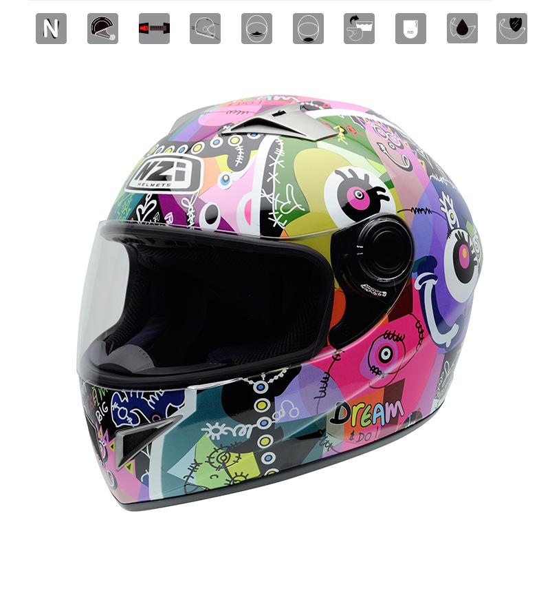 Comprar Nzi Integral helmet Vital Dream Big Do multicolor