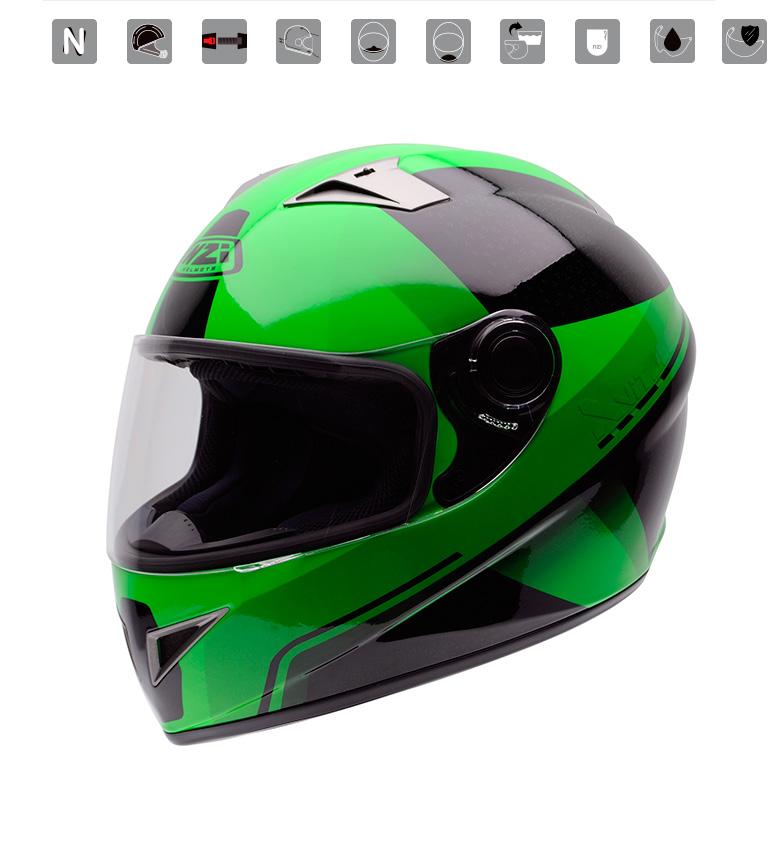 Comprar Nzi Casque Intégral Vital X-Vit Fluo Vert Vert