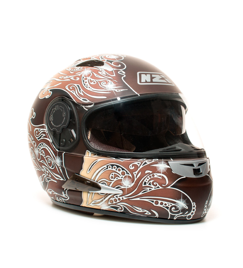 Comprar Nzi Full-face helmet Vitesse II MC brown