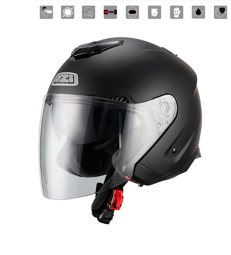 Comprar Nzi Jet helmet Avenew Duo Matt Black matt black
