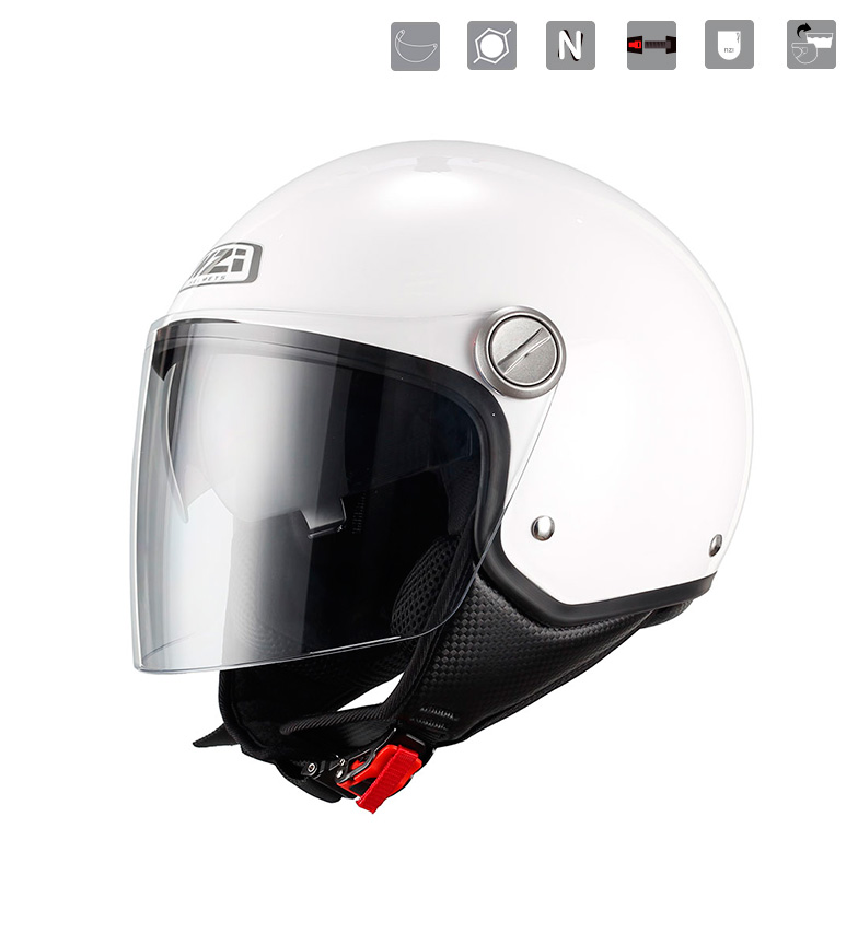 Comprar Nzi Capital Duo White jet helmet white
