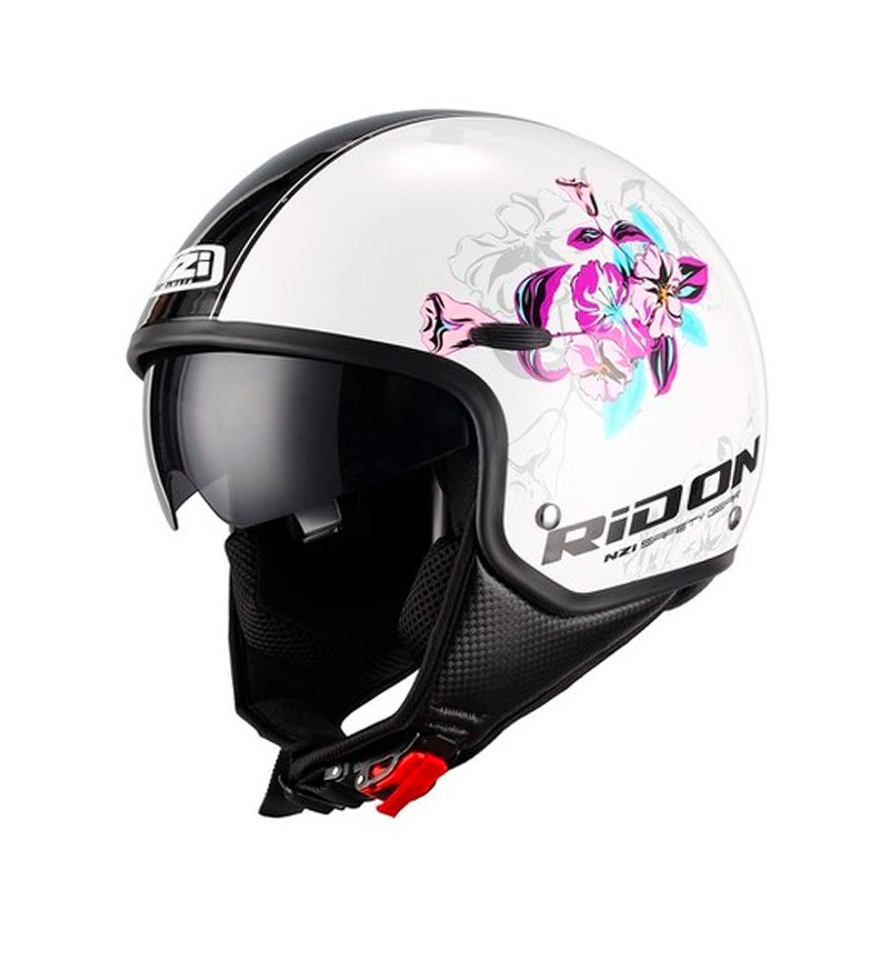 Comprar Nzi Jet helmet Capital Sun Bloom