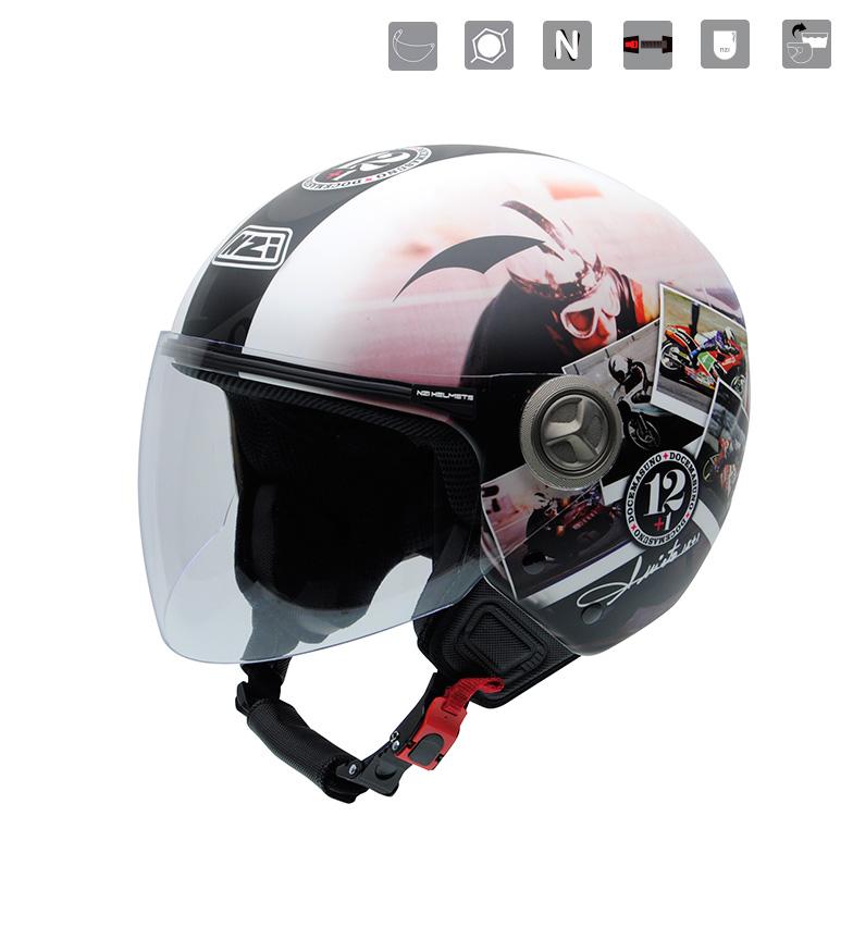 Comprar Nzi Jet helmet Helix IV Ran multicolor