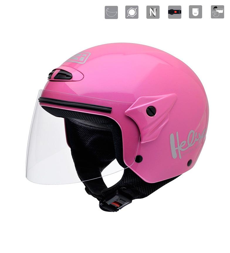 Comprar Nzi Junior Jet Helix II JR Pink Pink Helmet