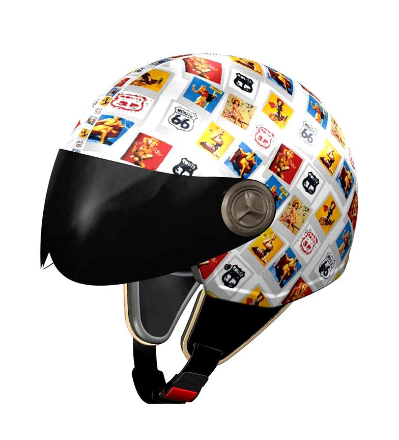 Comprar Nzi Jet helmet NZI 3D Vintage II R66 Polaroid