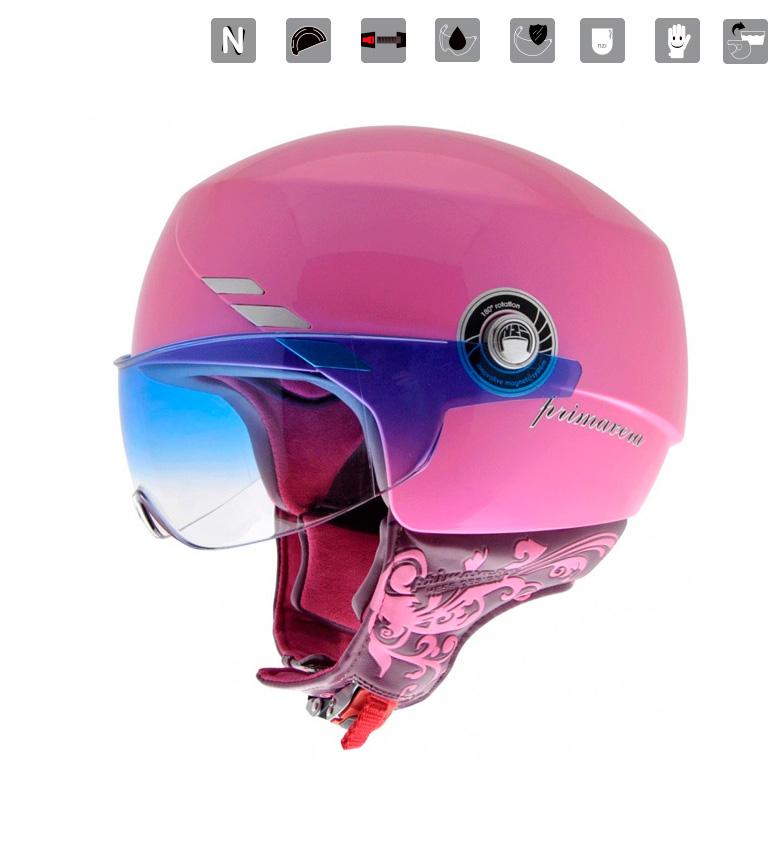 Comprar Nzi Capacete jet Spring Metal Pink pink