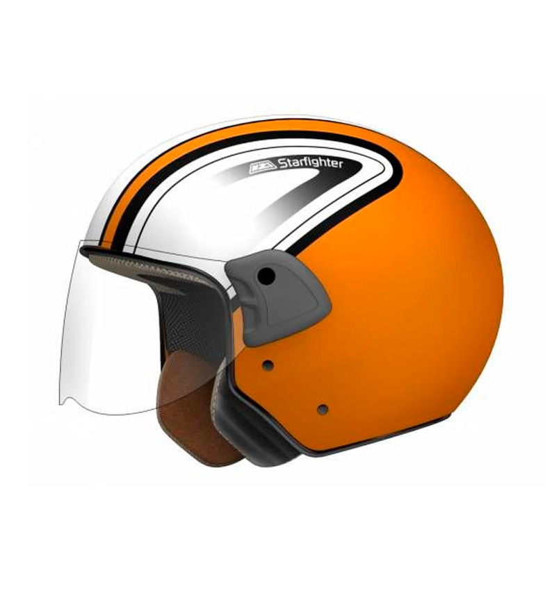 Comprar Nzi Casco jet Orange Starfighter GNA