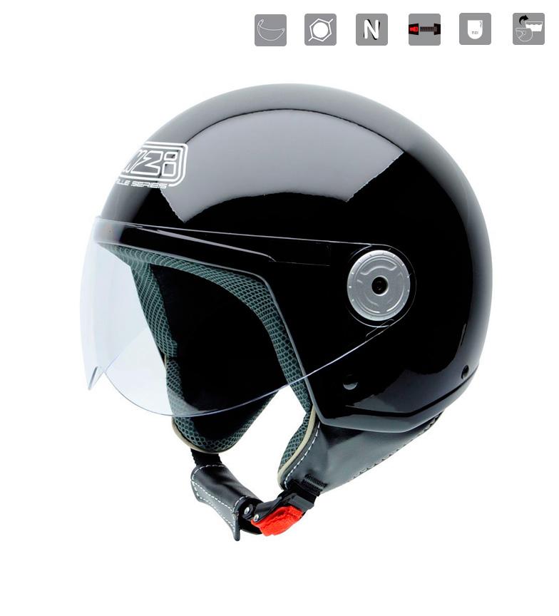 Comprar Nzi Helmet jet Vintage II Evo Black black