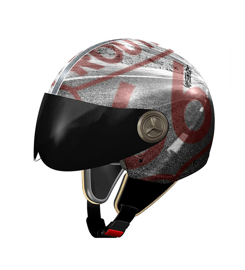 Comprar Nzi Casco jet Vintage II R66 'On the Road'  multicolor