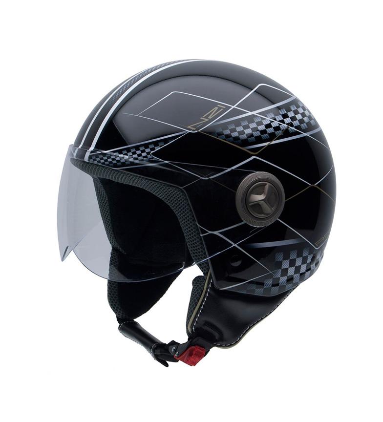 Comprar Nzi Jet helmet Vintage II Race black