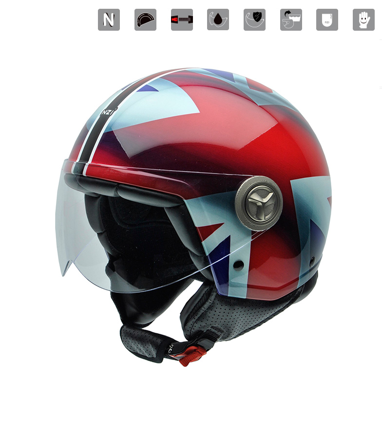 Comprar Nzi Zeta Gráficos Union Jack multicolor jet helmet