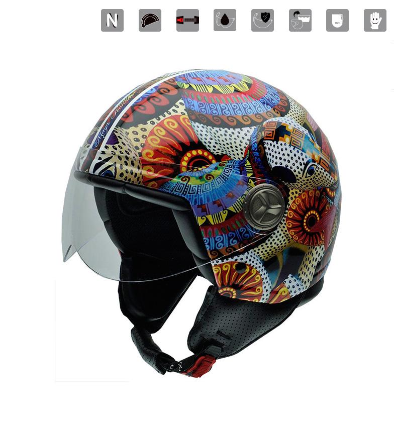 Comprar Nzi Jet helmet Zeta Maya Hansen Alebrijes multicolor