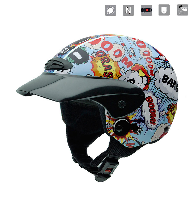 Comprar Nzi Casque Junior Single II JR Boom ouvert