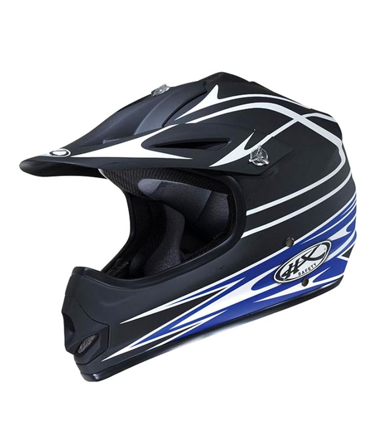 Comprar Nzi Helmet motorcycle HX Cannon blue, white
