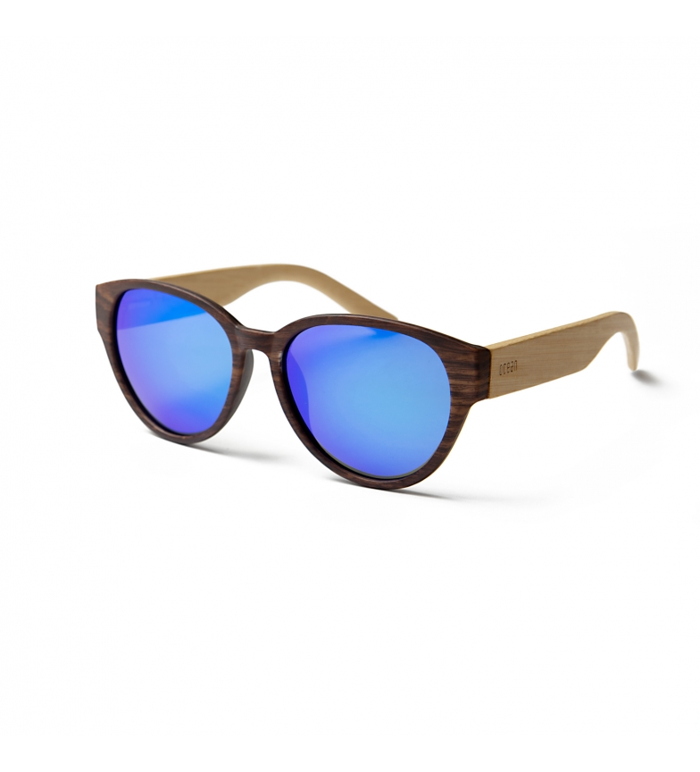 Comprar Ocean Sunglasses Gafas de sol Cool bambú oscuro, azul