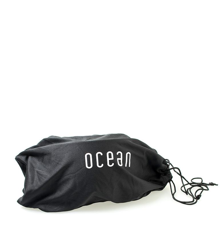 Ocean Sunglasses Gafas de nieve Aspen blanco con cristal azul <i>             revo         </i>