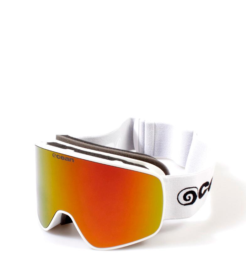 Comprar Ocean Sunglasses Óculos de neve branca Aspen com vidro revo