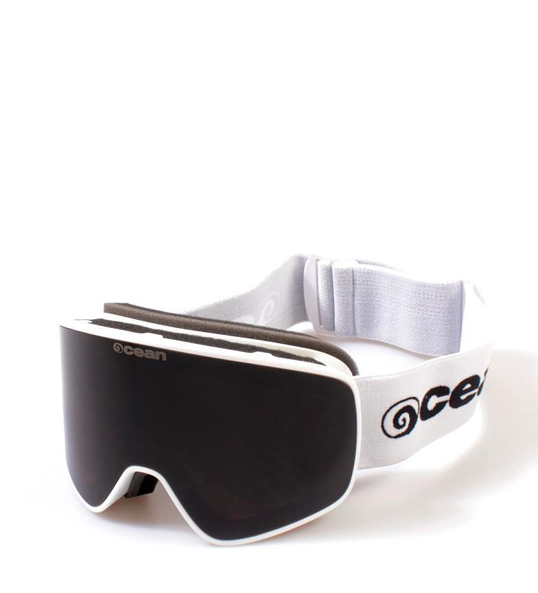 Comprar Ocean Sunglasses Aspen white snow glasses with smoke glass