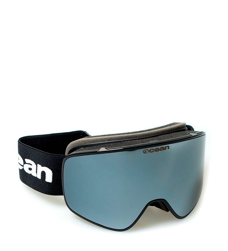 Comprar Ocean Sunglasses Óculos de neve preta Aspen com vidro revo cinza