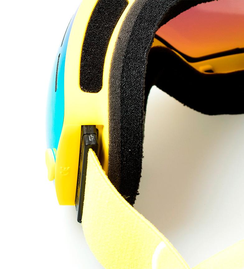 Ocean Sunglasses Gafas de nieve Cervino amarillo, amarillo efecto espejo