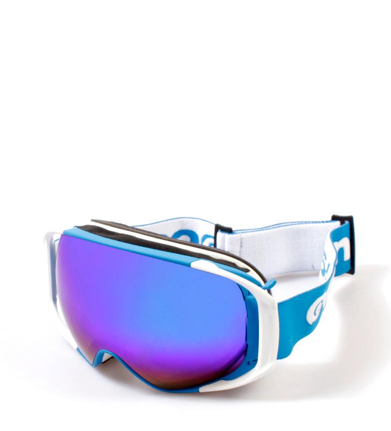 Comprar Ocean Sunglasses Occhiali da sole Snowbird blu, bianco opaco con vetro revo
