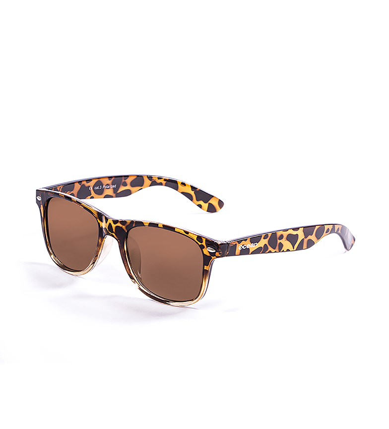 Comprar Ocean Sunglasses Lunettes de soleil Beach Wayfarer marron carey