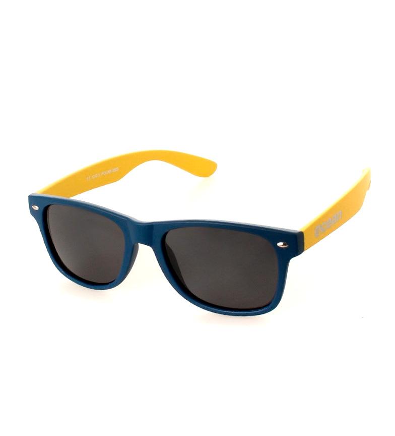 Comprar Ocean Sunglasses Lunettes de soleil Beach Wayfarer marine et jaune mat