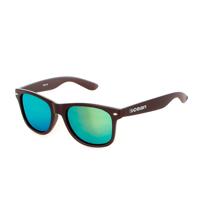 Comprar Ocean Sunglasses Occhiali da sole Beach Wayfarer marrone opaco