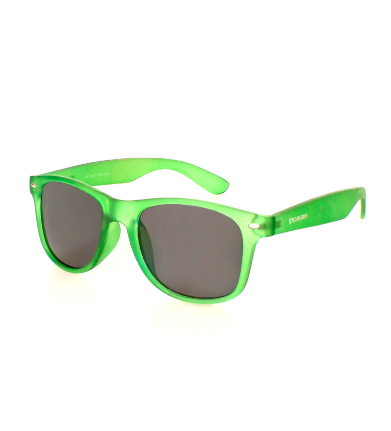 Comprar Ocean Sunglasses Lunettes de soleil Wayfarer plage lumière vert mat