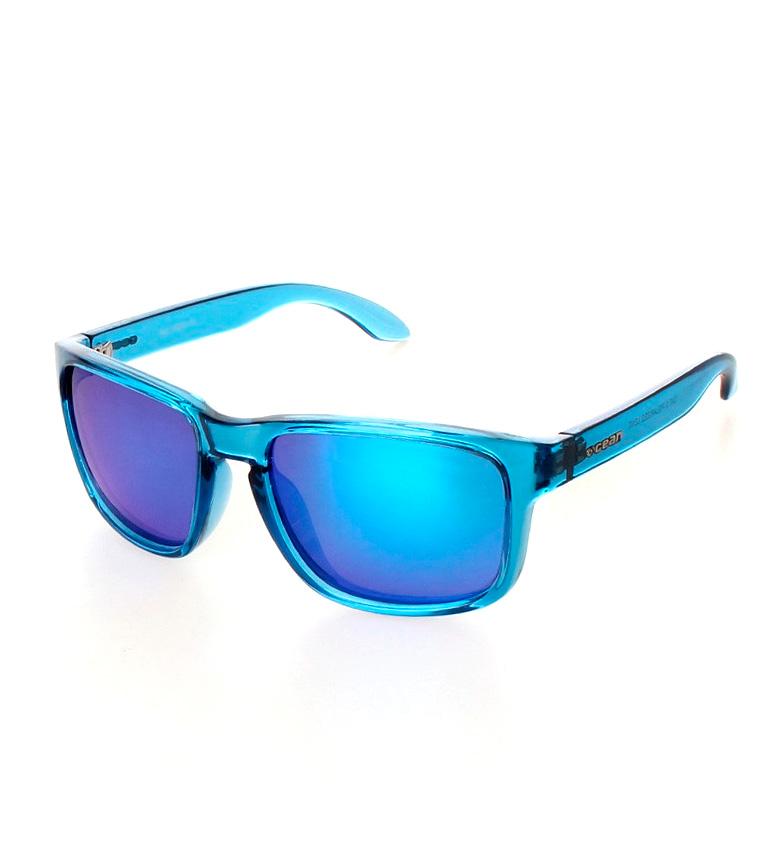 Comprar Ocean Sunglasses Occhiali da sole Blue Moon blu glitter trasparente