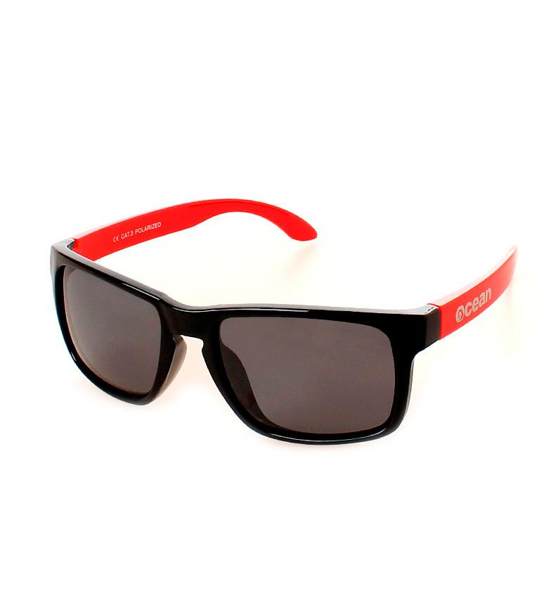 Comprar Ocean Sunglasses Lunettes de soleil Blue Moon lueur noir et rouge