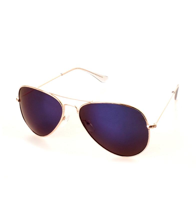 Comprar Ocean Sunglasses City Aviator sunglasses gold glitter