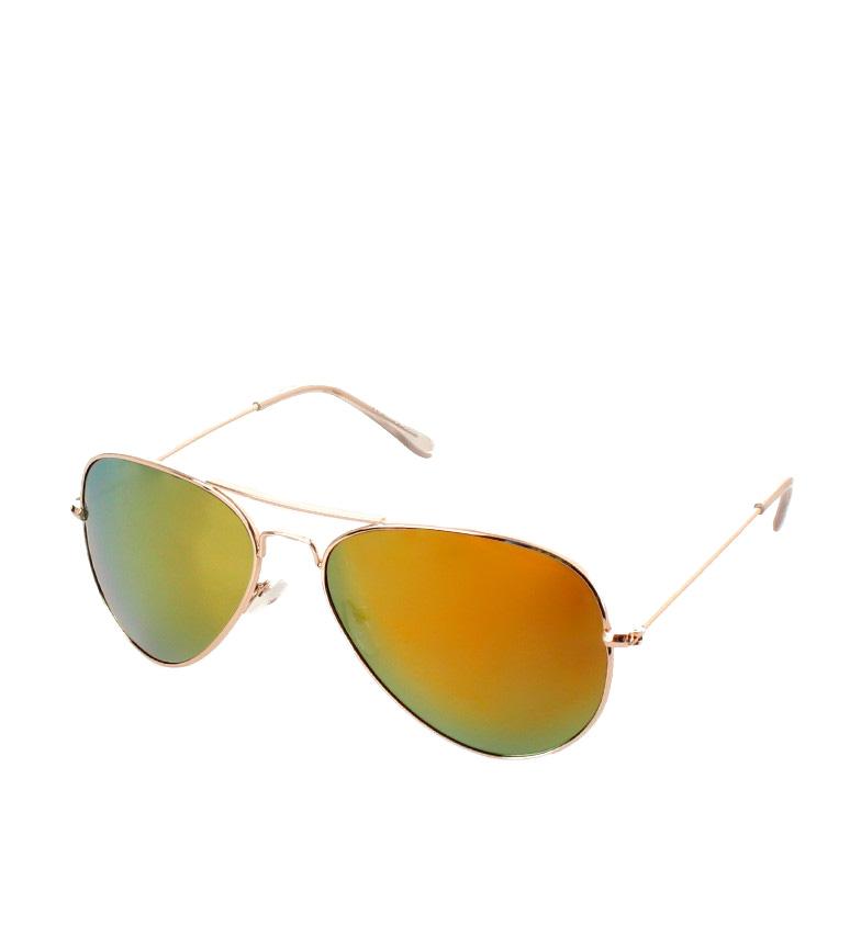 Comprar Ocean Sunglasses Sunglasses City Aviator Gold Glitter