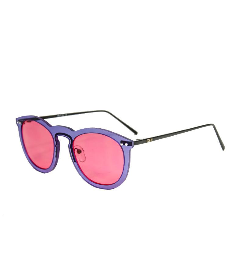 Comprar Ocean Sunglasses Helsinki lunettes de soleil transparentes noires, rose