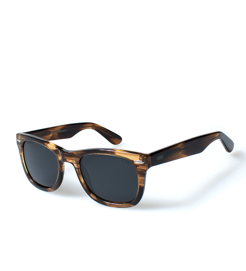 Comprar Ocean Sunglasses Lowers sunglasses light brown transparent glitter
