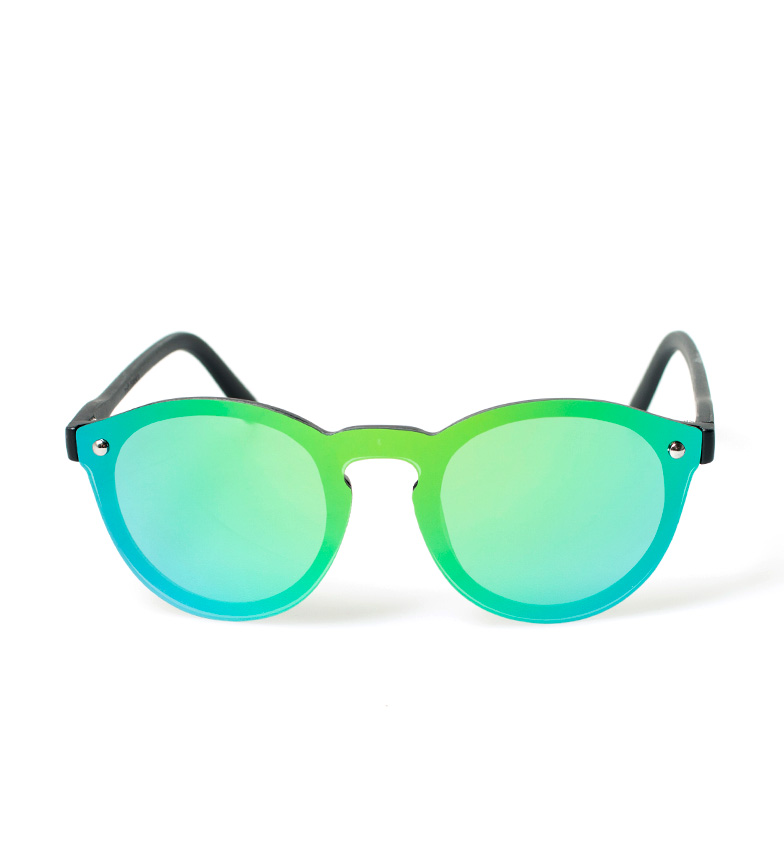 Havet Solbriller Svarte Solbriller Milan, Grønn