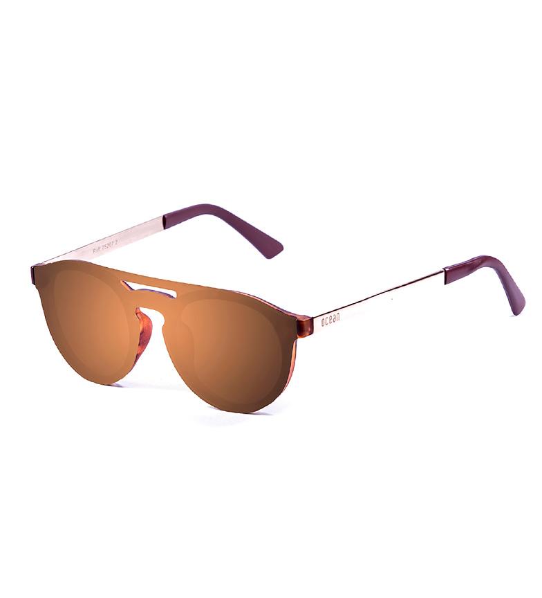 Comprar Ocean Sunglasses San Marino sunglasses, brown, gold