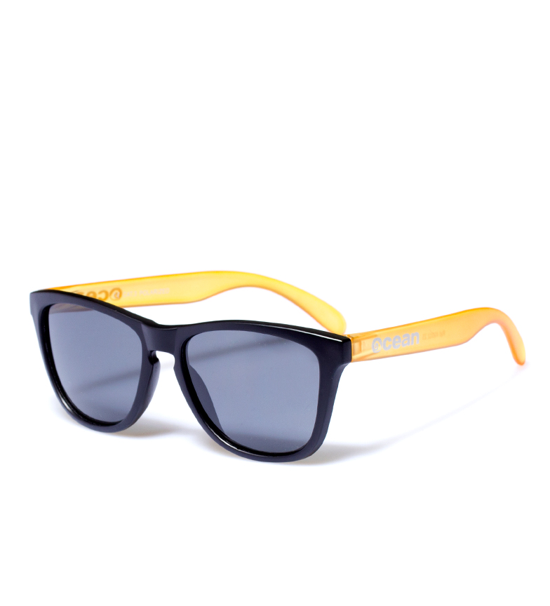 Comprar Ocean Sunglasses Lunettes de soleil mer noir mat, mat orange transparent